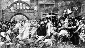 Традиционная свадьба в Восточной Европе в XIX в.