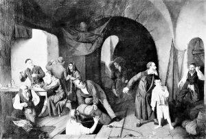 «Жиды ― контрабандисты». Худ. Александр Риццони. 1860 г.