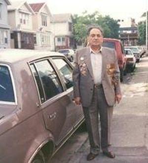 Леонид Рафаилович Вайнцвайг, День Ветерана, Нью-Йорк, начало-середина 1990-х годов