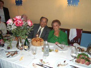 Леонид и Сарра Вайнцвайг — 60-летие свадьбы, Нью-Йорк, 2006 г.