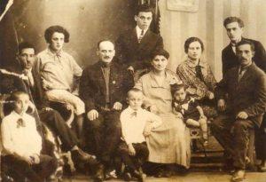 Семья Баскиных, 1929 г., Кривой Рог
