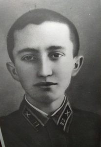 Моисей Григорьевич Позин, 1941 г., Одесса