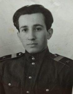 Сержант Нинель Григорьевич Позин , 1950-е годы
