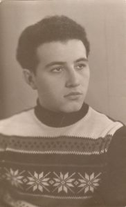 Леонид Израилевич Абрамский — Одесса, 1956 г.