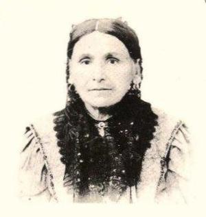 """Сара Абрамская, XIX век, (фотография из книги Йогева Бат-Ами """"Они были простыми людьми"""")"""