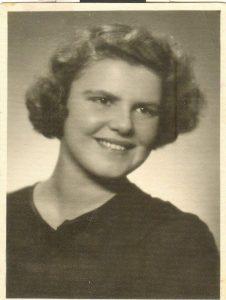 Елена Семёновна Либерман, Вильнюс, 1954 г.