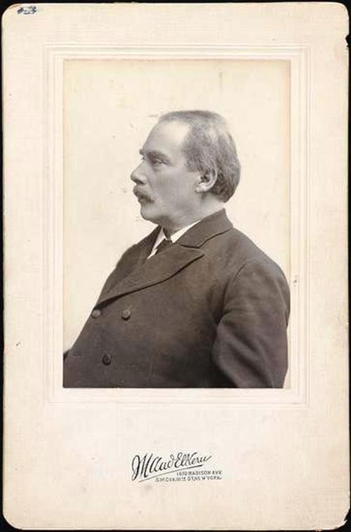Драматург Наум Мейер Шайкевич. Нью-Йорк, 1904 год.