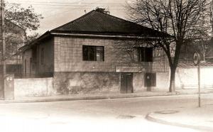 Здание бывшего Чернобыльского клойза весной 1994 года