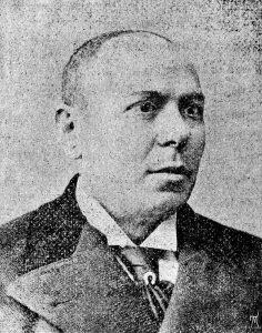 Артист А. Фишзон. Одесса, 8 ноября 1898 года. (Из личного архива Ф.М.)