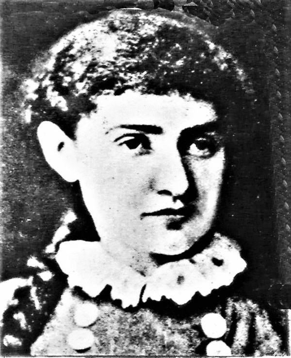 Одна из первых актрис труппы А. Гольдфадена Софья Карп. 1880 г.