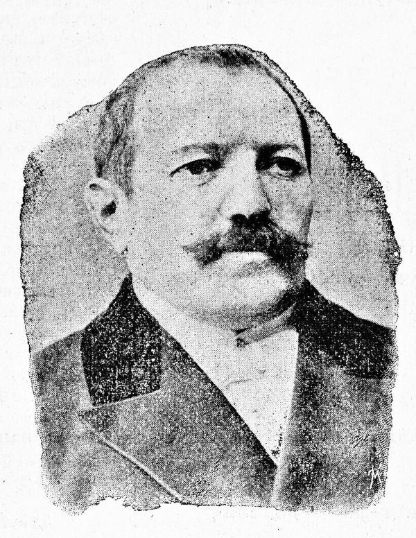 Артист Я. Спиваковский. Одесса, 8 ноября, 1898 год. (Из личного архива Ф.М.)