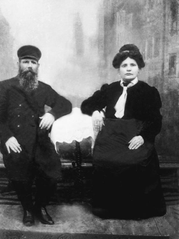 Илья Кваша с женой