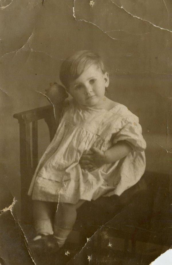 Дима Хазина, Харьков, 1925