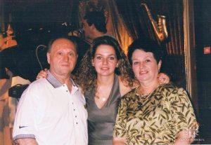 Справа налево ― Алла Бердичевская, Алина Дизик, Валерий Бердичевский, Чикаго, 2008 г.