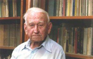 Шломо Эвен-Шошан (1910–2004) в последние годы жизни