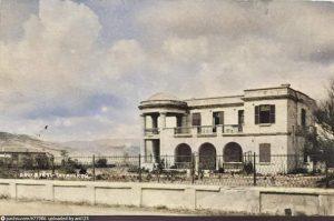 Дача М.А.Дейши. Разрушена во время войны
