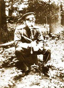 В.Вересаев, врач полевого госпиталя в действующей армии во время русско-японской войны. Маньчжурия, 1904‒1905гг.
