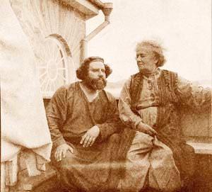 Максимилиан и Елена Оттобальтовна Волошины