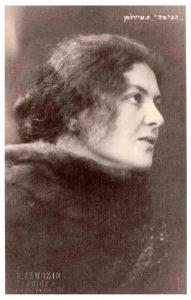 Хава Эйдельман, одна из первых актрис театра «Габима»