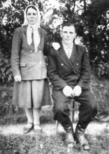 Фото №1: Супруги Гавельские: Иосиф и Анна; фото 50-х годов