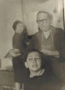 Бабушка, Генриэтта Абрамовна Бабиор, и будущий автор этих записок