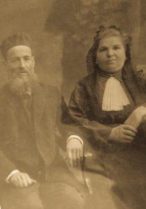 Давид и Соня Бабиор, дедушка и бабушка Генриэтты со стороны отца