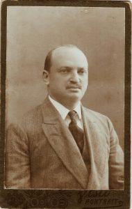 Молодой Абрам Бабиор, отец Генриэтты