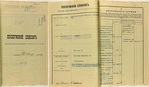 Послужной список Николая Дмитриевича за 1916 год.