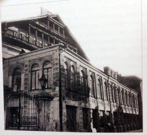 Рис.22 Здание библиотеки Страшуна (позади зданиe Большой синагоги), Вильна.