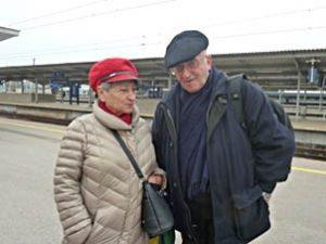 Кристина и Яков в Варшаве