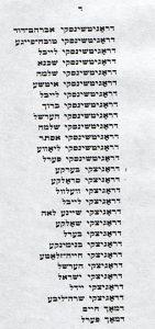 В течение десяти лет я обращалась с просьбой помочь сохранить остатки еврейского кладбища и установить памятную табличку…» Ну и так далее.