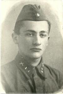 Мой отец Лев Яковлевич Экслер; Фотография 1941 года