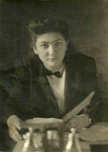 Римма Яковлевна Экслер; Фотография 40-х годов