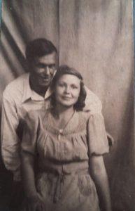 Молодой Саша Бабиор с Верой