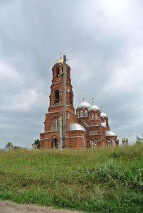 Храм в селе Ершовка