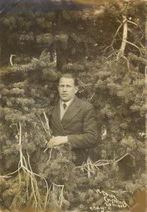 Борис Моисеевич Гиль, Крым, Симеиз, 1940г.