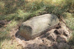 Мацейва-«гроб» на могиле р.Исраэля бар Йегоше (ум. в 1900г.). Фото А.Ваховской