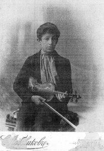 Десятилетний скрипач Арчик Пазовский