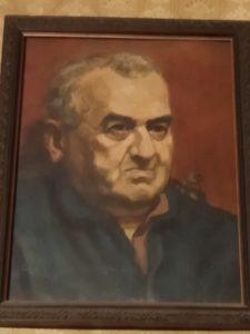 Портрет Самуила А́нцелевича Анцеле́вича.Масло. 1939‒1940(?)