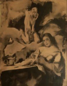 Иллюстрация к рассказу А.П.Чехова «Ведьма»