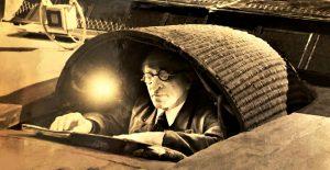 А.Я.Альтшуллер — суфлер Большого театра. Фото из музея Большого театра